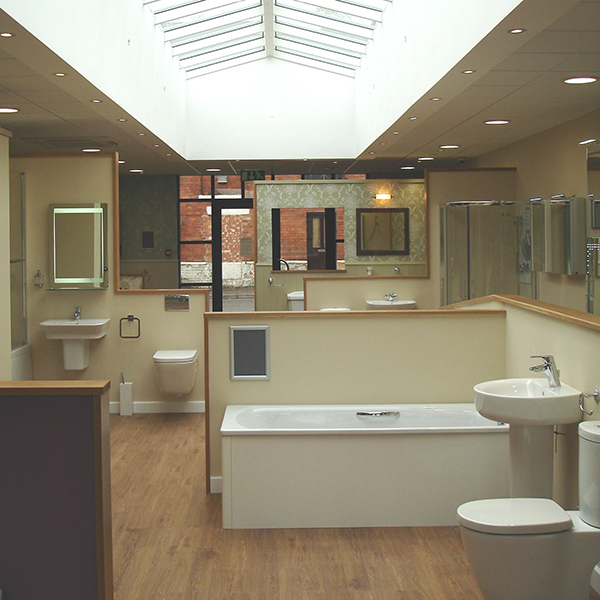 Bathroom Showroom - After